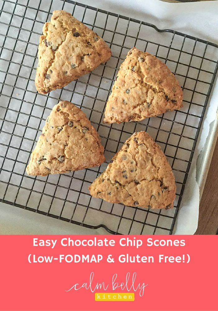 ... Chocolate Chip-Oat Scones (Low-FODMAP, Gluten Free) | Gluten Free