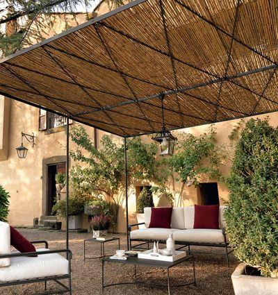 Les 25 meilleures id es de la cat gorie pergola en plein air sur pinterest patios couverts for Pergola avec canisse