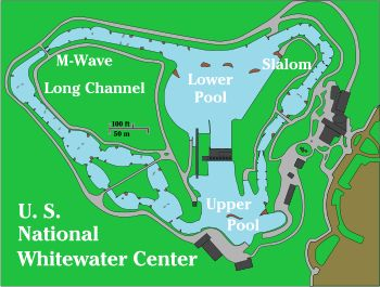 Best USNatlWhitewaterCenter Images On Pinterest Charlotte Nc - Us map charlotte nc