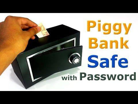 Home Made Micro Piggy Bank ATM Machine / DIY ATM Piggy Bank - YouTube