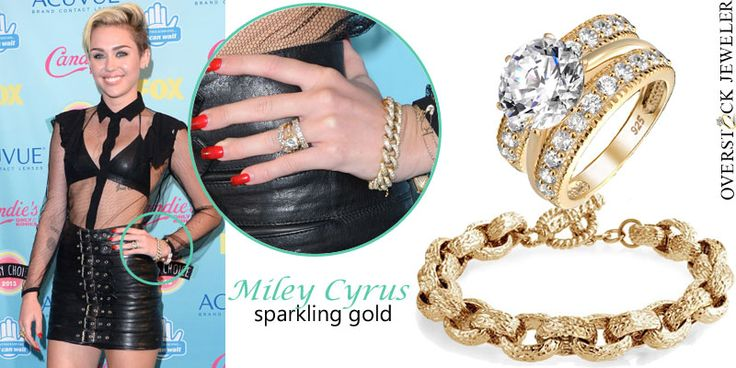 Pin by Overstock Jeweler on Bold Gold! | Pinterest