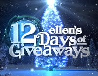 Ellen's 10th season of 12 Days of Giveaways starts next week, and we're giving you one last chance to win a pair of tickets*. Enter every day until Thursday, November 29! Good luck!  #Christmas2012