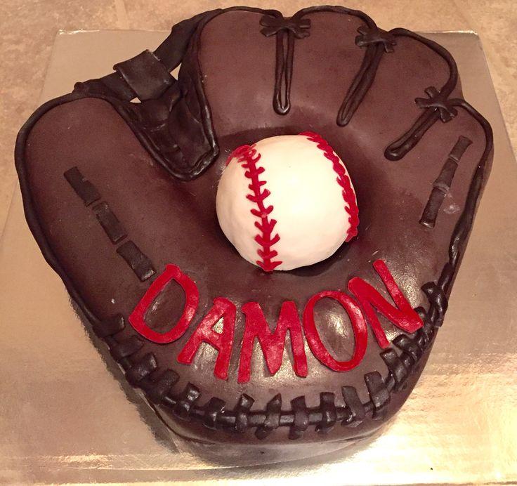 Top Baseball Cakes: 25+ Best Ideas About Baseball Glove Cake On Pinterest