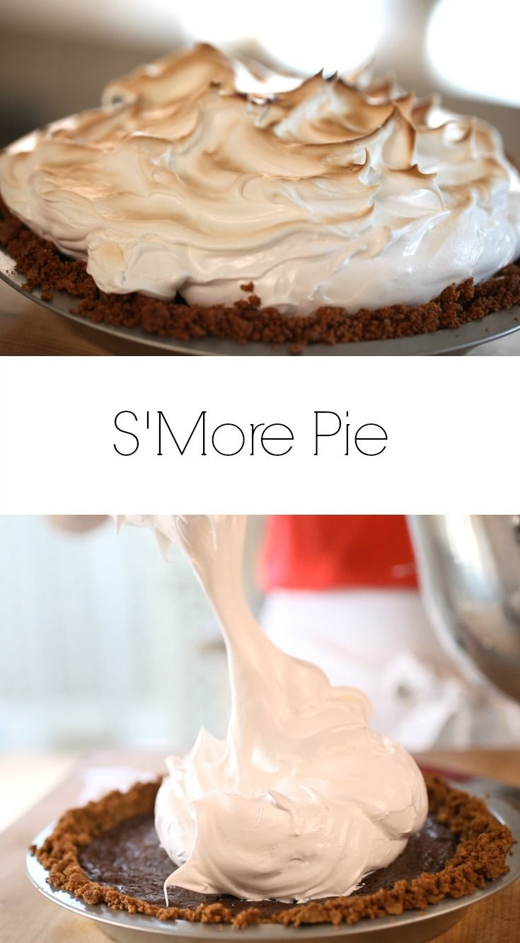 S'more Pie Recipe is the perfect Thanksgiving dessert idea for the kid in you. Includes recipe video too.