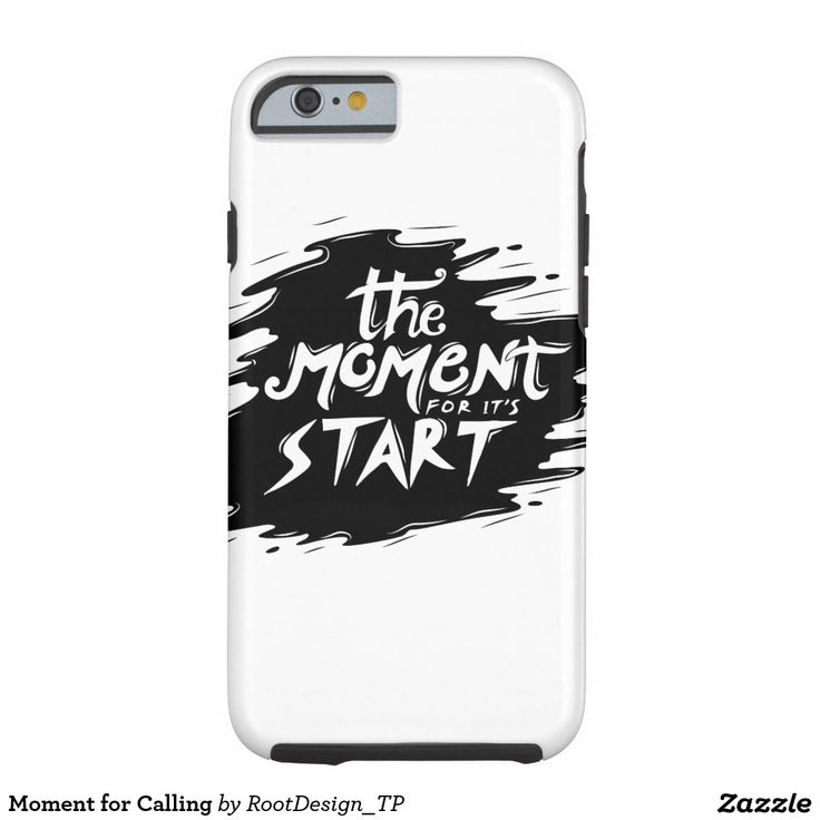 Moment for Calling Tough iPhone 6 Case
