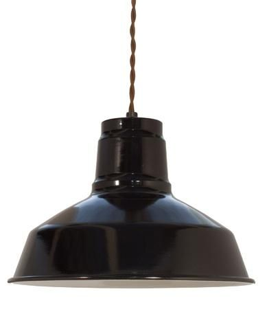 Ivanhoe Dino Porcelain Cotton Twist Cord Pendant is $129 at Barn Light Electric.