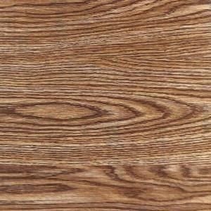Home Depot carries wood grain contact paper. This light oak contact paper costs $17.95 for a 18in x 75ft roll.
