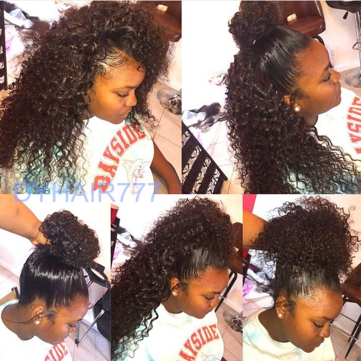 Groovy 1000 Ideas About Curly Sew In On Pinterest Curly Sew In Weave Short Hairstyles For Black Women Fulllsitofus