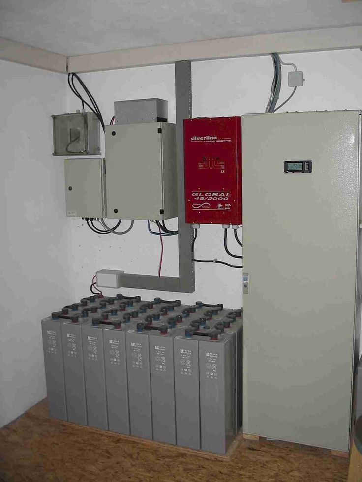 Off grid system for a one family house without grid connection picture ...