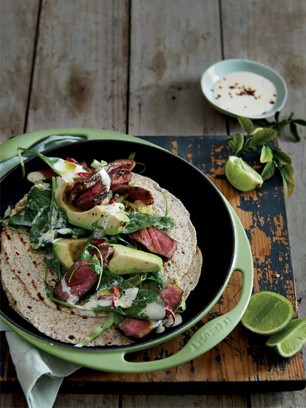 Mexican beef with Avocado