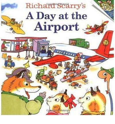 Richard Scarry's A Day at the Airport  A couple of years ago one of my aunts gave my son a book I had loved as a child - A Day at the Airport by Richard Scarry. Although he was…