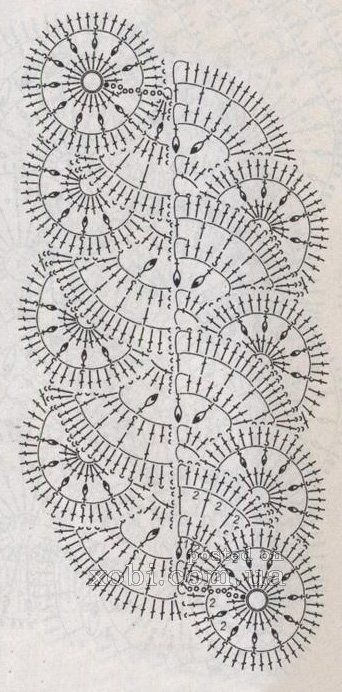 nastro 15 - схема вязания