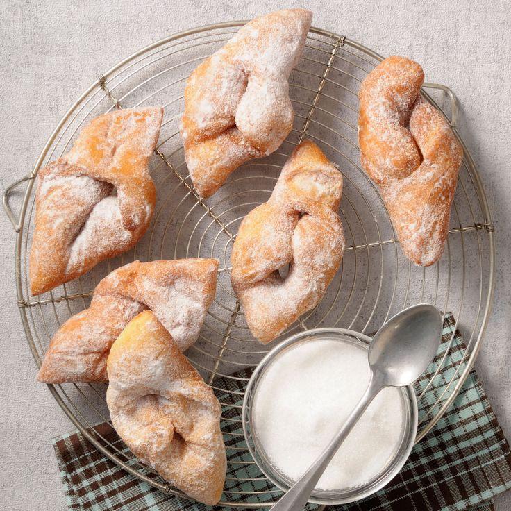 Découvrez la recette Beignets de carnaval moelleux d'Isa sur cuisineactuelle.fr.