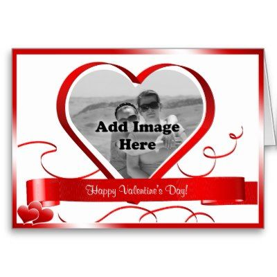 Happy Valentine's Day! Photo Template Card