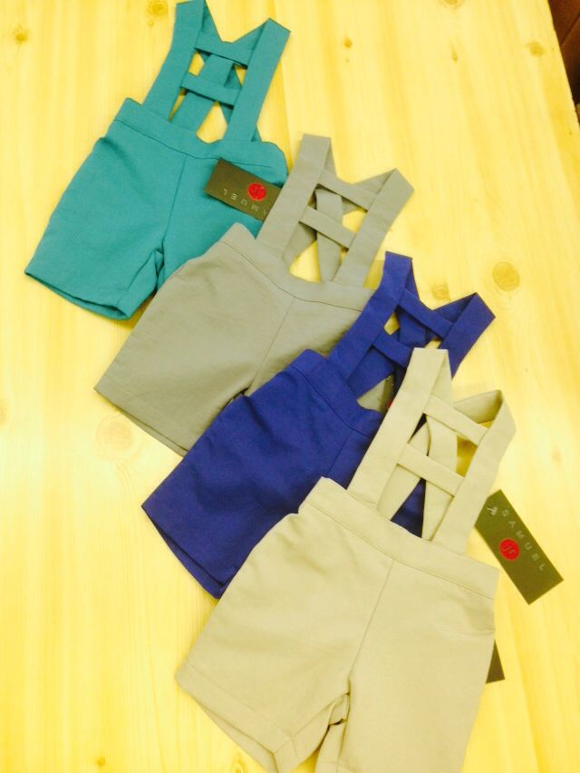 Boys overalls many colors matching brothers and sister sets Samuel jr