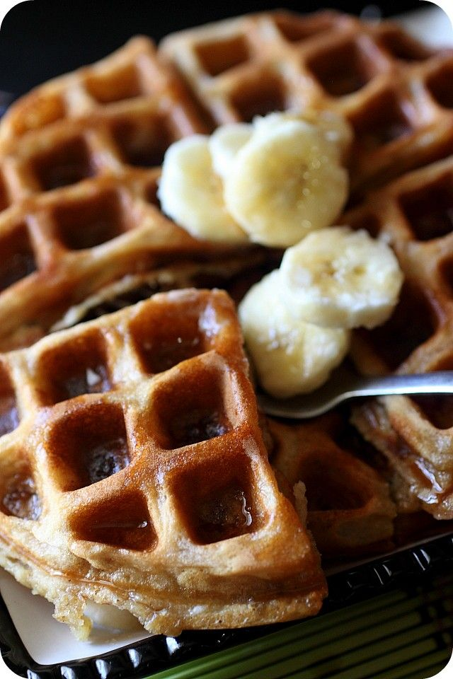 All recipes banana waffles with pancake
