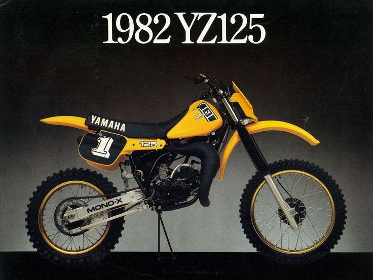 Yamaha YZ 125 (1982) Usa