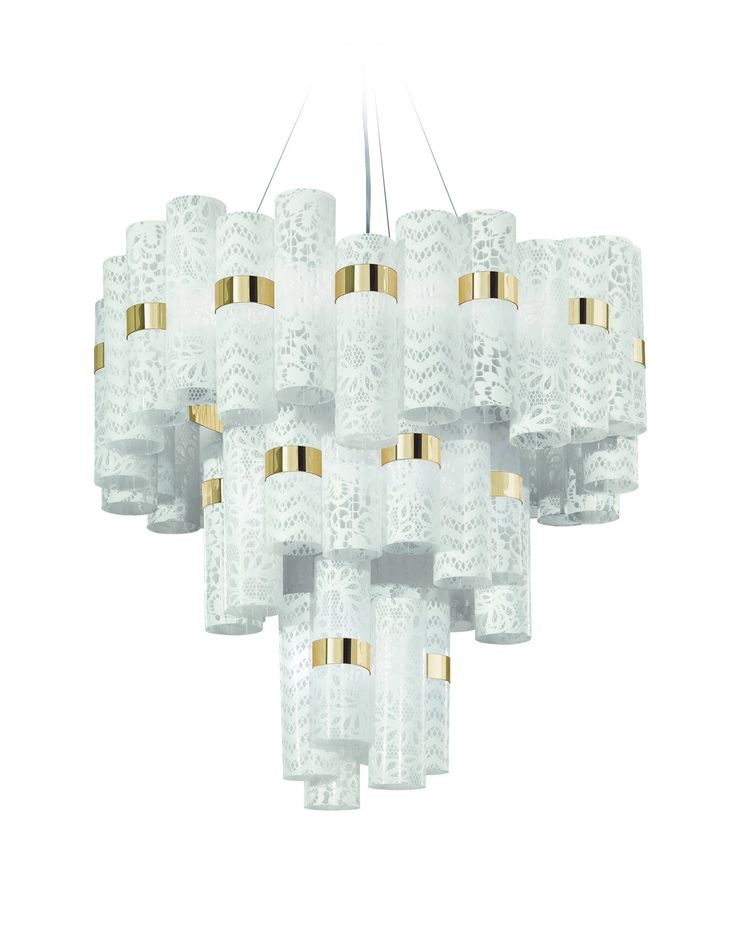 LA LOLLO #lace  is an #opulent yet feminine #chandelier designed by Lorenza Bozzoli, now available in stores!! Check out our #website to find your nearest #shop and ensure this new, #suggestive remarkable #icon for your #cozy interior. It's totally #handmade  and with #LED technology. More on www.slamp.it