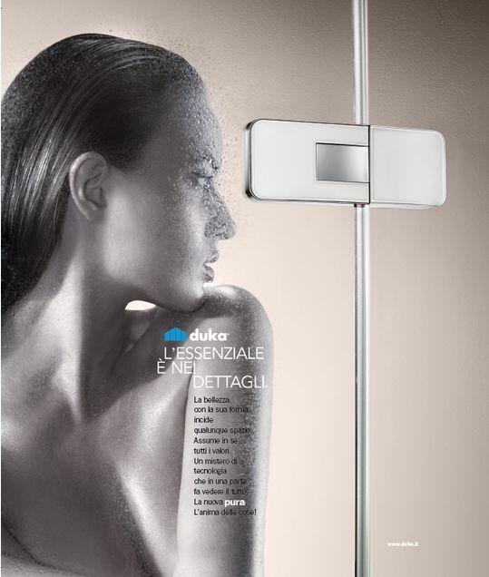 Duka Pura 5000 new, l'essenziale è nei dettagli... #Duka #Pura5000new #Emozionedoccia #Design #Qualità #Arredamento #Bagno