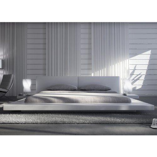 Die besten 25+ Polsterbett weiß Ideen auf Pinterest - schlafzimmer ideen wei beige grau