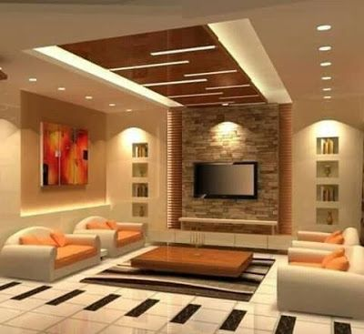 3734c6b7ccac07e148d92519389824ce - View Latest Modern Living Room Simple Small House Ceiling Design Pictures