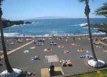 Playa de la Arena Beach in Tenerife south of Los Gigantes