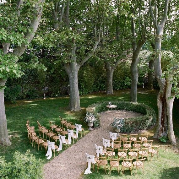 Garden Wedding Ceremony: 2317 Best Images About OUTDOOR WEDDING CEREMONY, AISLE