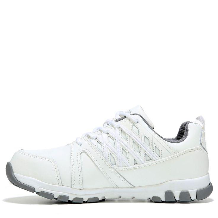 Reebok Work Men's Subtile Work Medium/Wide Steel Toe Sneakers (White Leather) - 13.0 M