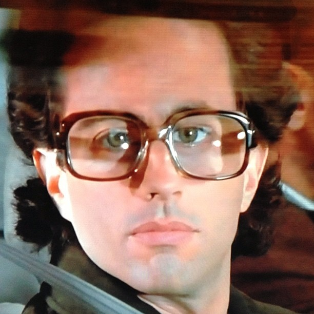 In case you're having a bad day, here's Seinfeld in granny glasses.