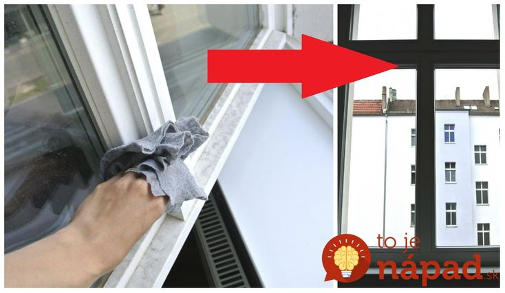 Perfektná rada pre každého, kto neznáša drhnutie okien!