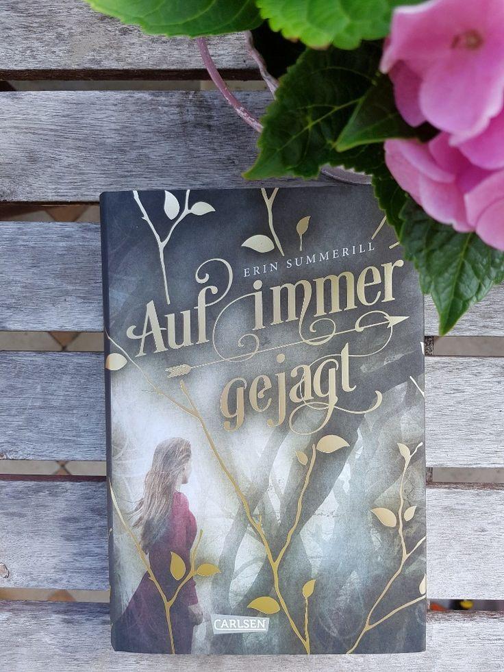 Buchrezension vom Buch: Auf immer gejagt. Buchtipp für Teenies. Jugendbuch Rezension