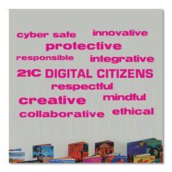 Digital Citizens Vinyl Lettering Word Wall