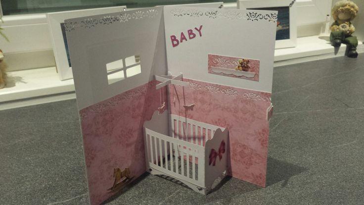 Popupkarte zur Geburt