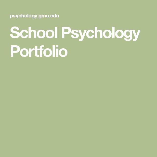 School Psychology Portfolio