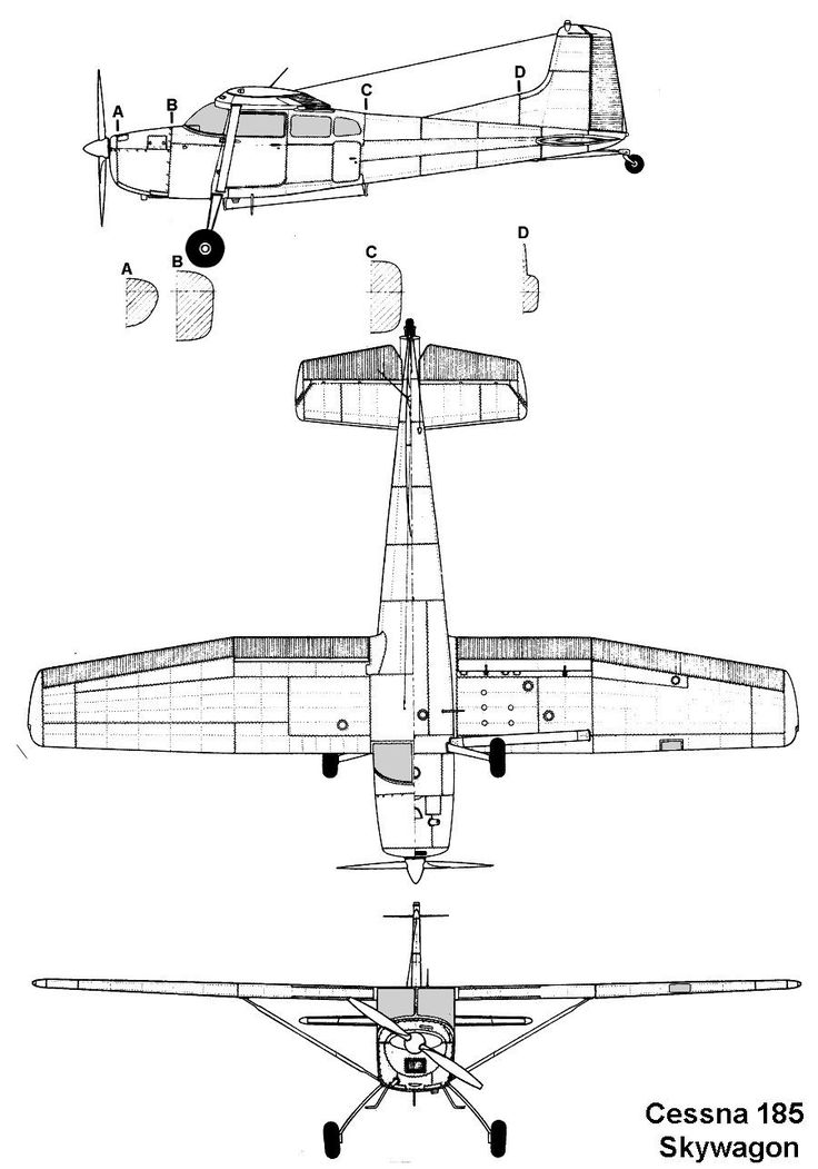 Cessna 172 blue prints again                                                                                                                                                                                 Más