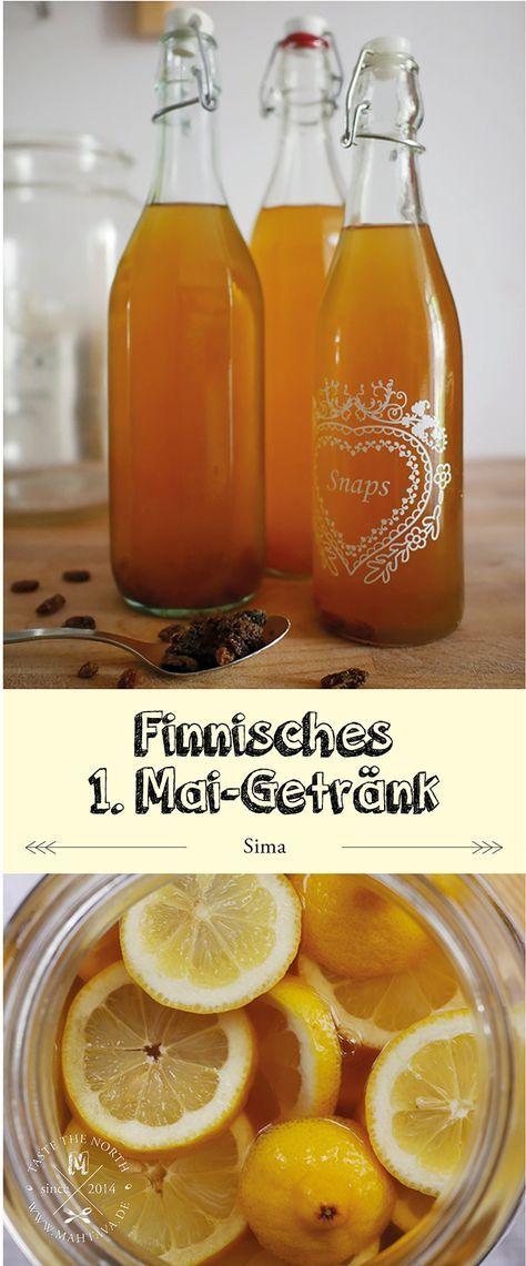 Finnisches Rezept: Maigetränk (Sima)