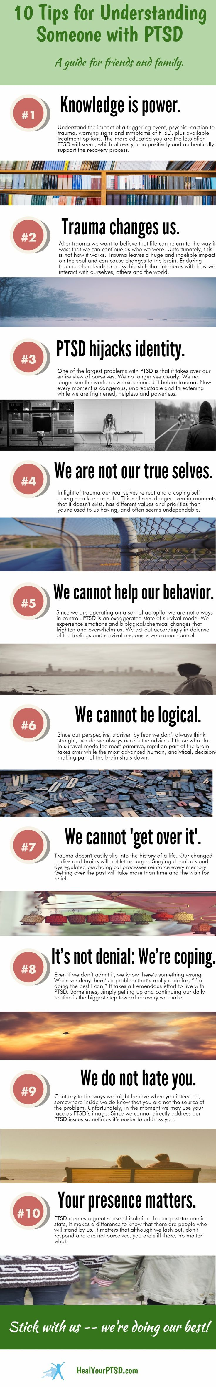Interesting Outlook on PTSD & its effects. Instead of judging, love them…