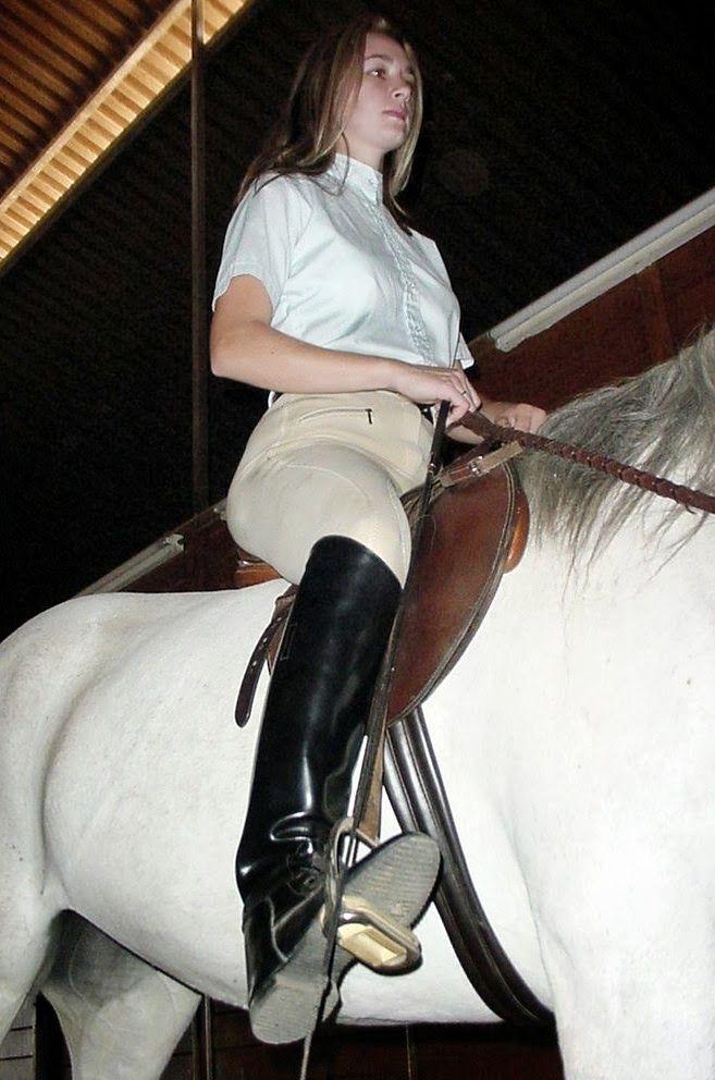 Mistress riding boots