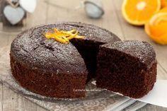 Torta+cioccolato+e+arancia+senza+burro+e+senza+olio