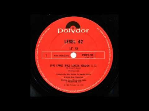 Level 42 ‎– Love Games (Full Length Version) - YouTube