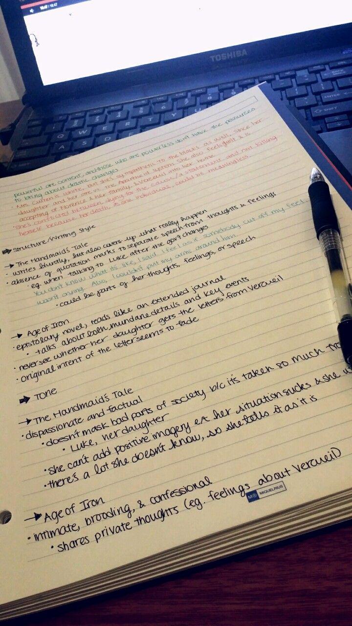 How do I keep my essay on an exam neat?
