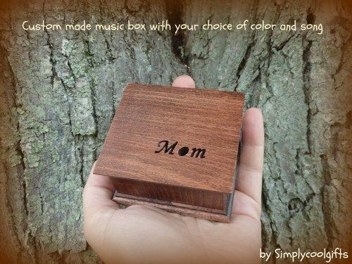 Mom music box, mother of the bride gift, custom music box, musicbox | simplycoolgifts - Wedding on ArtFire
