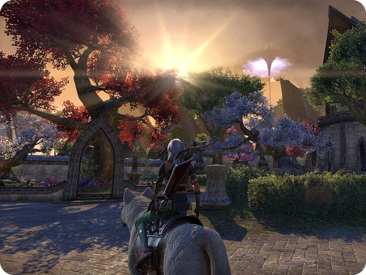 vulkhel guard, auridon, sunset, dolmen, elder scrolls online