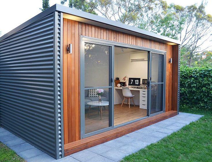 25 best ideas about studio shed on pinterest backyard. Black Bedroom Furniture Sets. Home Design Ideas