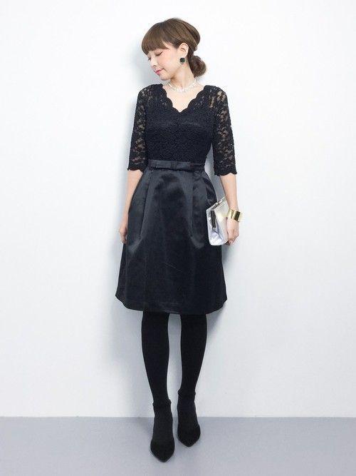 ayumi ;)さんの「【平子理沙】総レースパーティー ワンピース ドレス(結婚式や二次会などのシーン)(DRESS LAB)」を使ったコーディネート