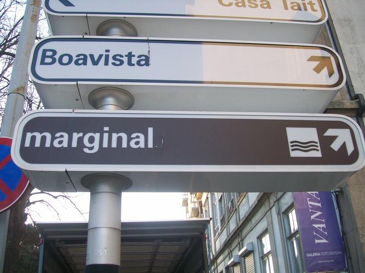 Even in Porto you have Marginals, thank god I'm left...