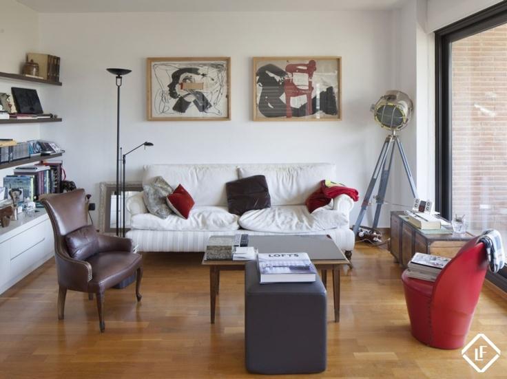 Appartement à louer dans la Zona Alta de Barcelone.