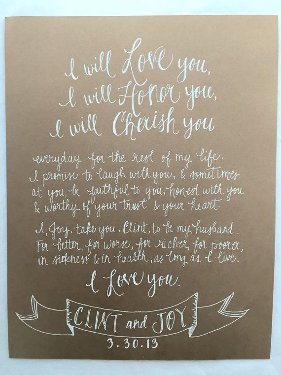 9 best cricut projects images on pinterest beautiful cricut hand written vows wedding vow artwork by styledahlia on etsy junglespirit Choice Image