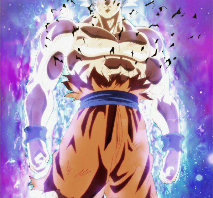 Goku Mastered Ultra Instinct Anime Dragon Ball Dragon Ball Wallpapers Dragon Ball Tattoo