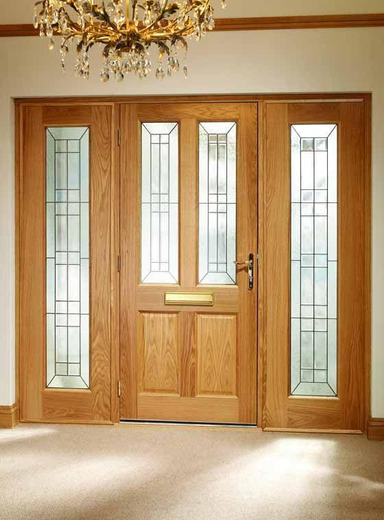 Best Solid Wood Front Doors Images On Pinterest Wood Front - Shaker front door